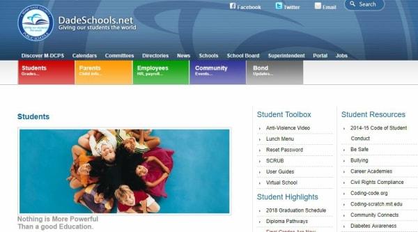 DadeSchools Student Portal Login